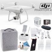 dji phantom 4 quadcopter starter bundle
