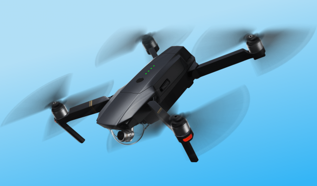 The dji mavric pro drone