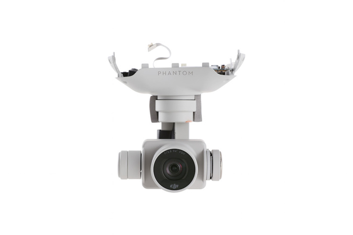 how to fix dji phantom 4 camera?