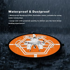 42 Universal Drone Landing Pad launchpad - Foldable Waterproof large Landing Pad for RC Drones Helicopter, DJI Mavic Pro