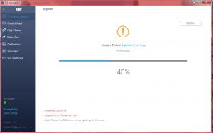 Mavic 2 firmware upgrade failed