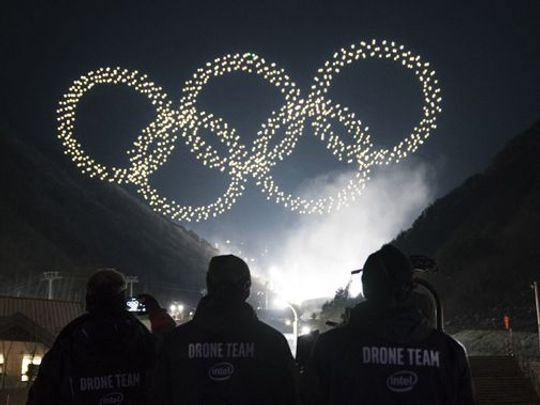 Flying a Drone at Night 800x450636-661627365_537386-Olympics