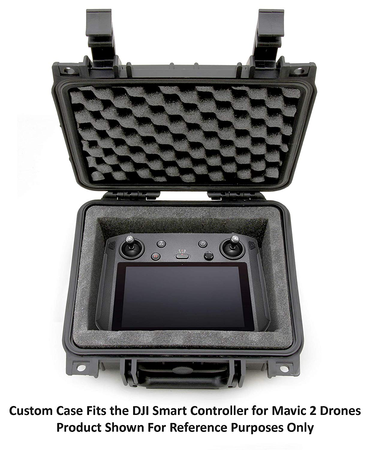 CASEMATIX Waterproof Carry Case Compatible with DJI Smart Controller for Mavic 2 - Rugged Drone Controller Case81uoNx0QwyL._SL1500_