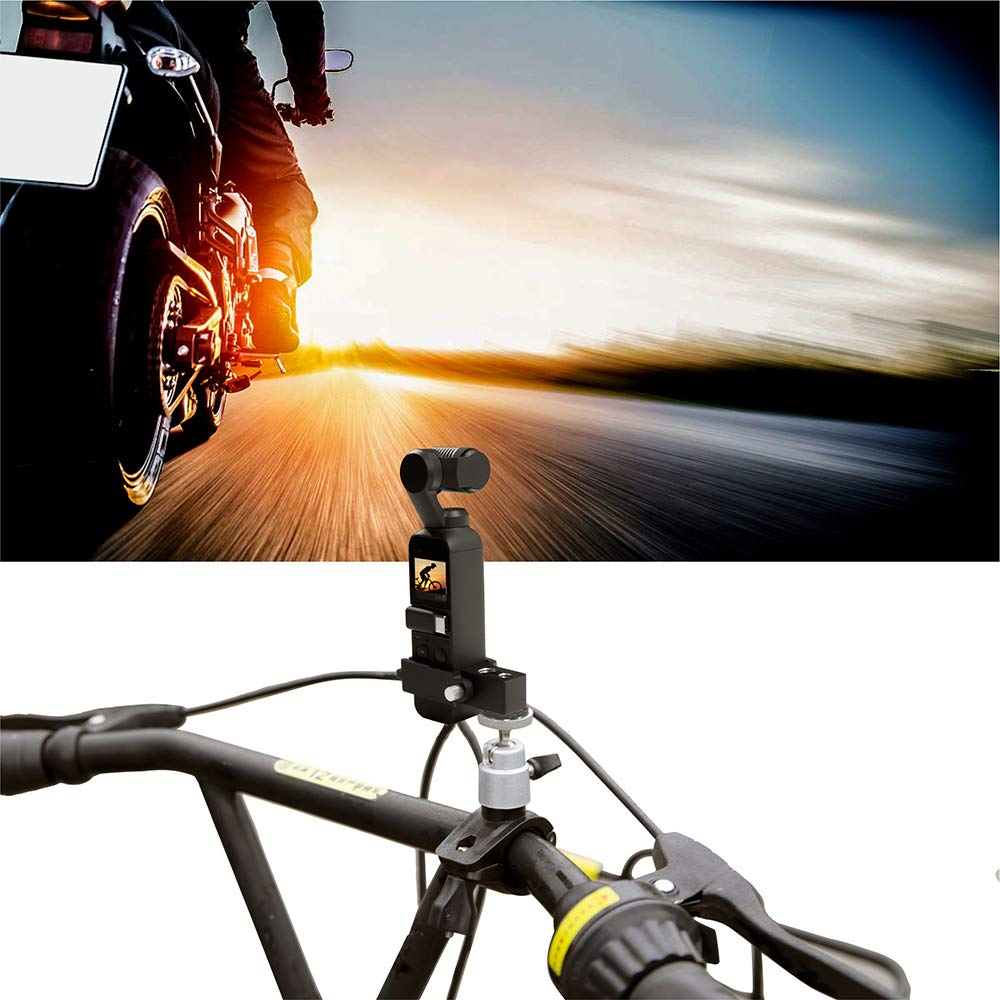 Jesykin OSMO Pocket Tripod Holder Bike Mount Stand for DJI OSMO Pocket Bicycle Bracket Accessories61bWFCbwO2L._SL1000_