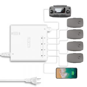 Compatible with DJI Mavic 2 Pro Charger Multi Charger Hub Intelligent Fast Charging 4 Batteries and 2 Remote Controller51AGDot3-+L._SL1000_