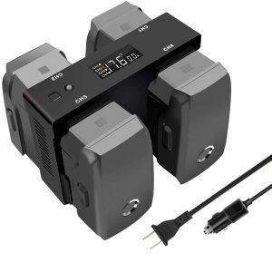 DJI Mavic 2 Zoom Pro Drone battery Multi-Charger Hub 51qPx92RNDL._SL1010_