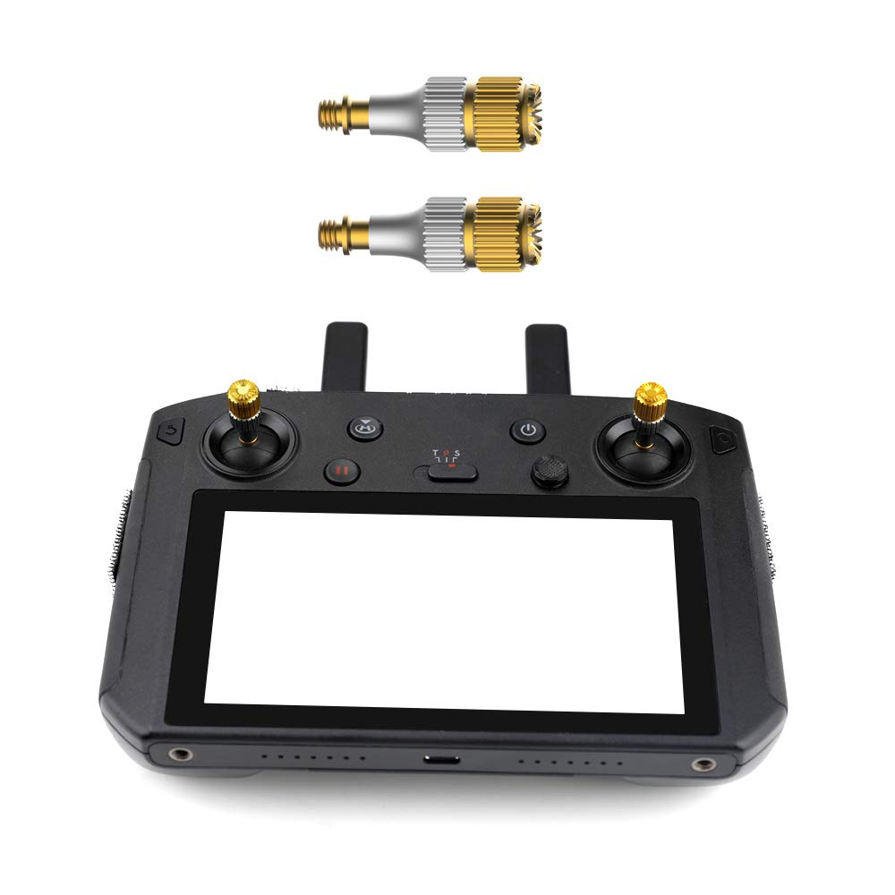 Remote Controller Stick Thumb Rocker, Metal Joystick Protector for DJI Mavic Smart Controller 51wTdIwOYkL._SL1000_