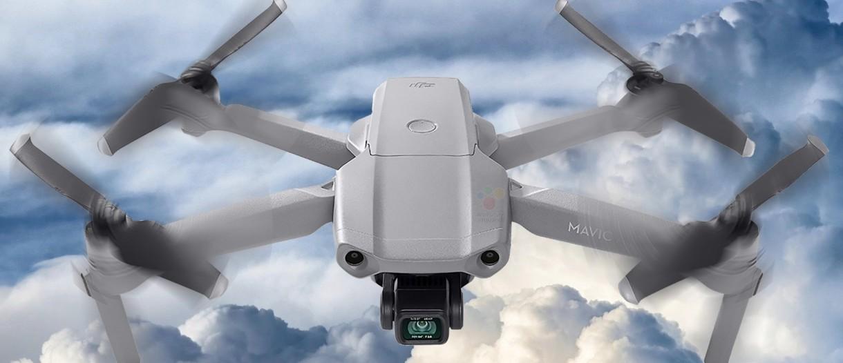 Maximum distance on the DJI AirSense drone Mavic Air 2 and enterprise